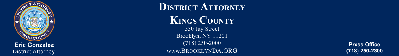 Press Releases – The Brooklyn District Attorney's Office